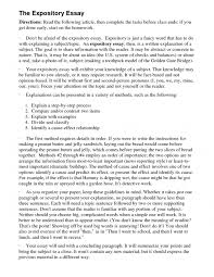 cover letter how to write expository essay examples expository  cover letter expository essay examples for th grade general writing tips define expository essaybbcdhow to write