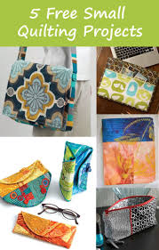 64 best Small Quilting Projects images on Pinterest | Christmas ... & Free Small Quilting Projects Perfect for Back to School - Quilting Daily Adamdwight.com