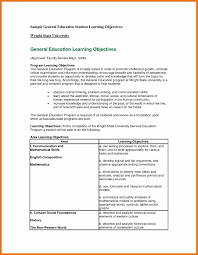 11 Resume Objective Examples General Budget Reporting