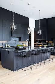 kitchen lighting trend. Sleek, High-shine Lighting Illuminates A Dark, Masculine Kitchen Design. No Matter Trend I
