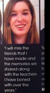 Senior Quotes Tumblr Magnificent These High Schoolers Got Away With The Most Inappropriate Yearbook