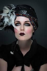 20 s makeup dark eye dark lip
