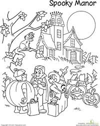 5th Grade Halloween Coloring Pages 5th Grade Halloween Coloring