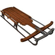 old wooden sledge model sled deck plans