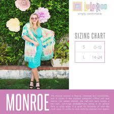 Lularoe Monroe Size Chart I Am Usually A Size 14 16 Or Xl Xxl And I Bought A Large