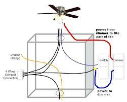 ceiling fan light switch wiring ceiling fan light on dimmer switch fan on normal switch ceiling