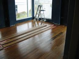 interior best flooring over concrete new inspirational design ideas wood floor raised slab home with