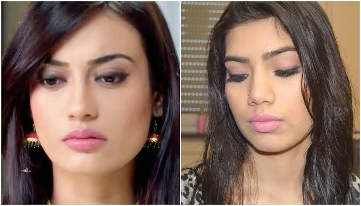 qubool hai zoya without makeup