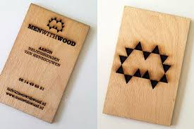 wooden business cards 25 astonishing wood business cards from most talented