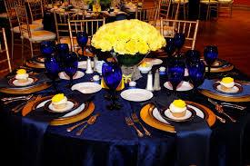 Blue White And Yellow Wedding Ideas