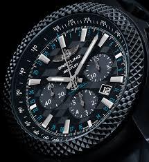 Breitling Bentley GT 'Dark Sapphire' Edition Watch   aBlogtoWatch