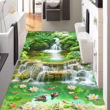 Nach 3d Boden Tapete Vinyl Boden Aufkleber Wasserdicht Self Adhesive