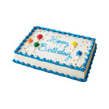 Square Birthday Ice Cream Cake Carvel Cake Shop
