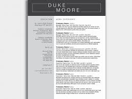 Resume Docx Free Download Elegant Free Resume Template Modern Cv