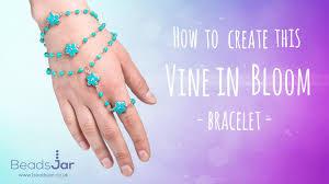 how to create this vine in bloom bracelet