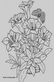 Spring Flowers Coloring Pages Printable Sophisticated Flowers Name