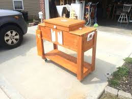 beautiful patio coolers on wheels or pallet outdoor cooler or ice chest ideas how to make inspirational patio coolers