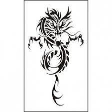 Dočasné Tetování čínský Drak Chcidrakycz