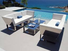 Modern Metal Outdoor Furniture dayrime