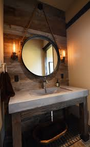 Barnwood Bathroom Concrete Bathroom Sinks That Make A Strong Statement Without Any