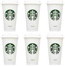 Starbucks texas coffee mug, been there series across the globe collection. Amazon Com Starbucks Reusable Cups Recyclable Grande 16 Oz Plastic Travel To Go Coffee Cups 6pcs Kitchen Dining