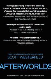 Afterworlds Special Arc Cover Scott Westerfeld