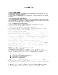 Example Of A Resume For A Teenager Examples Of Resumes