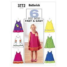 Toddler Dress Patterns Impressive Butterick Toddler's Children's Dress Pattern B48 Size 48