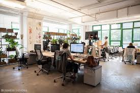 Eco office furniture Innovation Office Pinterest Makespace Tour Etsys Stunning Ecofriendly Office Space Mydomaine