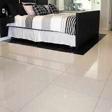 white porcelain tile floor. Super White Polished Porcelain Pre-Sealed 60 X 30 WALL \u0026 FLOOR TILE White Porcelain Tile Floor