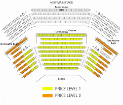 Fred Kavli Theatre Detailed Seating Chart 49 Expository Beacon Nyc Seating Chart