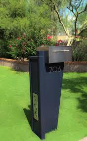best  contemporary mailboxes ideas on pinterest  modern