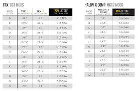 Mathews Rock Mods Halon X Comp 75