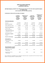 Basic Financial Statement Template 24 financial statement example Statement Synonym 1