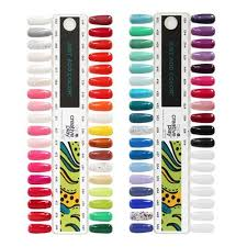 Cnd Creative Play Color Nail Tip Chart Limited Edition