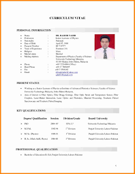 13 Awesome Resume Sample Format For Job Application Resume