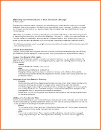 Resume With Branding Statement Sample Branding Statements For Resume