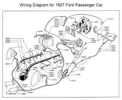 flathead electrical wiring diagrams wiring diagram for 1937 ford