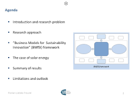 Business Models for Sustainability Innovation   PhD Thesis Defence