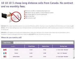 Companies like videotron have offered lower prices, forcing national companies to adjust their prices. 1010 103 Provides Cheap Local And International Long Distance Phone Calling Services To Bell And Long Distance Long Distance Phone Calls Long Distance Calling