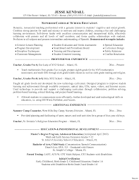 Brilliant Ideas Of Reading Teacher Resume Cute Teacher Skills