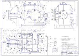 заказать курсовой по ДМ детали машин  Редуктор коническо цилиндрический цилиндрическо конический