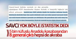 FETÖ iddianamesinden: Aynı kasabadan 8 akraba general