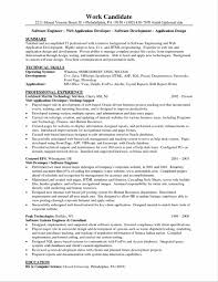 Software Engineer Resume Examples Sample Software Engineer Resume Create My Templates Template 78
