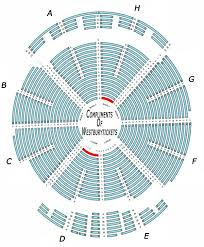 Xfinity Theater Hartford Detailed Seating Chart