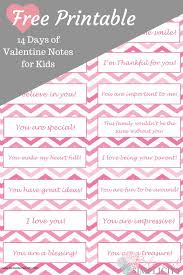 See more ideas about valentines, valentines diy, boyfriend gifts. 14 Days Of Valentine Notes For Kids Free Printable Blessed Simplicity