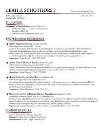 making of resume