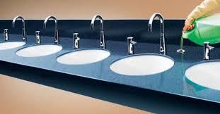 Commercial Bathroom Soap Dispenser Classy ASI Deck Mount Automatic Soap Dispenser