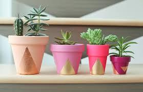 paint your own flower pot