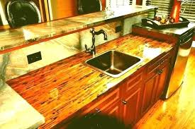 how to finish wood countertops in kitchen oil
